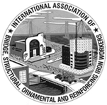 Internation Association of Bridges, Structual, Ornamental and Reinforcing Iron workers logo