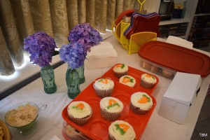 Cupcakes at office party