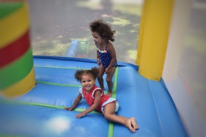 bouncey house